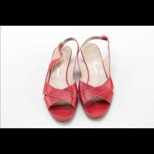 Ferragamo shoes. EUC. 7.5 B .